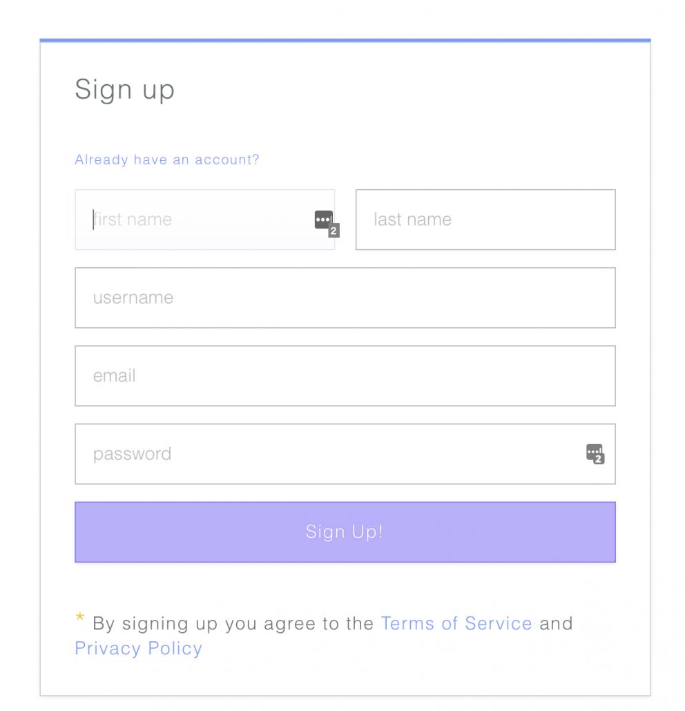 Créer un compte sur Zencastr