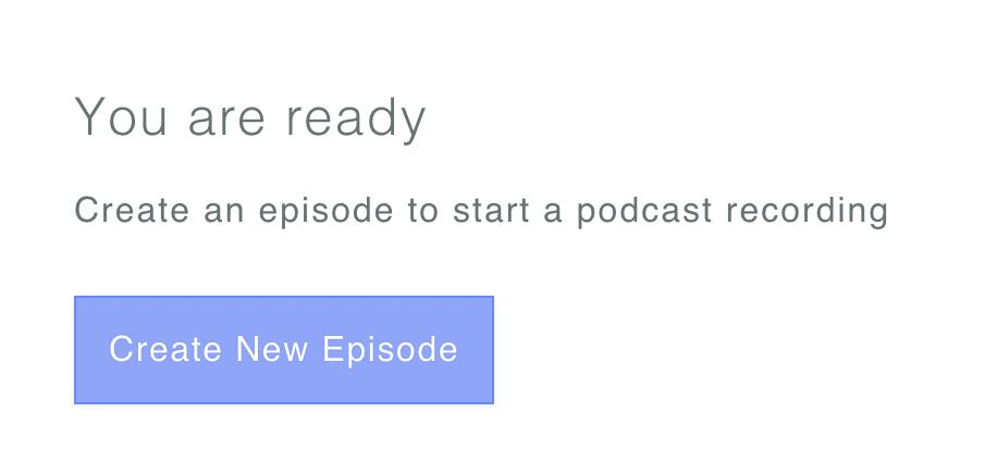 Créer un épisode de podcast sur Zencastr