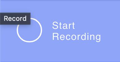 Démarrer l'enregistrement sur Zencastr